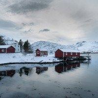 Sund - rybářské domky