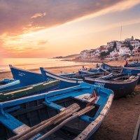 Taghazout je městečko rybářů a surfařů