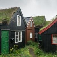 Tinganes - historická čtvrt v Tórshavnu