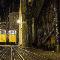 Zaparkované tramvaje