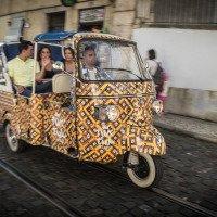 V Lisabonu jezdí celá flotila Tuk-tuků