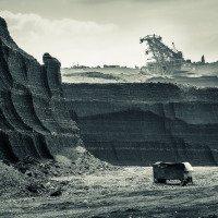 Odkrytá uhelná sloj