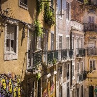 Lisabonské uličky