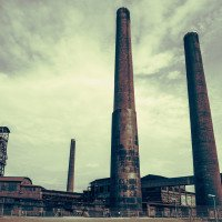 Vítkovické železárny - důl Hlubina