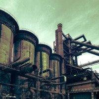 Vítkovické železárny - ohřívač větru