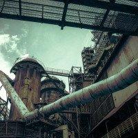 Vítkovické železárny - vysoká pec