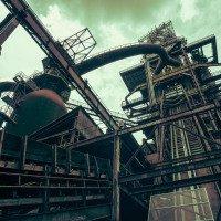 Vítkovické železárny - výtah na vysokou pec